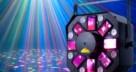 Paprskové LED efekty