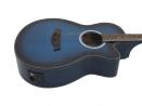 AW-400 Folk stínovaná modrá
