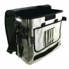 Courier Bag Silver