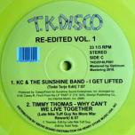T.K.Disco Re-Edited Vol.1  2x Yellow LP