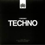 Ministry Of Sound - [ Origins ] Techno  2xLP