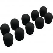Sada krytů na náhlavní mini mikrofon černé