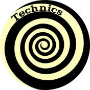 Slipmat Technics Spiral Glow