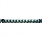 DP12XFH distribuční panel 1U - 12x XLR
