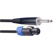 Repro kabel Speakon/Jack, 10m, 2x2,5qmm