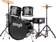 TIM122B BK bicí sada černá