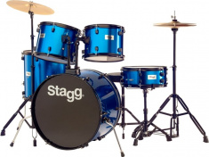 TIM122B BL bicí sada modrá