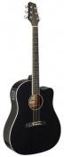 SA35 DSCE-BK elektroakustická kytara