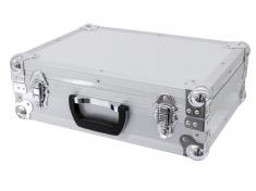 Uni kufr s výplní, stříbrný