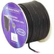 Kabel repro 2x2,5qmm černý