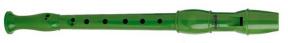 Zobcová flétna zelená