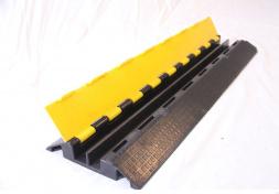Kabelový přejezd TPU, 2 kanály, 93,5x25x5,5cm