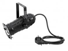 LED PAR-16 spot černý, 3x3W LED 3200K