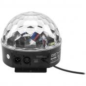 LED Half Ball 6x 1W RGBAW DMX