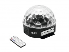 LED Half Ball 6x 1W MP3
