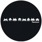 Slipmat Technics Space Invaders