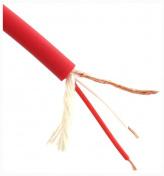 Symetrický kabel 2 x 0,22 červený