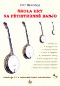 Banjová škola + CD - Petr Brandejs