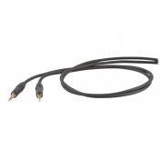 Symetrický kabel Jack 6,3 - Jack 6,3 stereo, 1m
