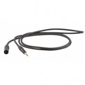 Symetrický kabel Jack 6,3 stereo - XLR M, 0,5m