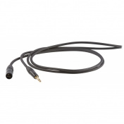 Symetrický kabel Jack 6,3 stereo - XLR M, 1m
