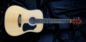 Akustická 3/4 kytara typu dreadnought