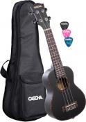 Koncertní ukulele černé HH2300 Set