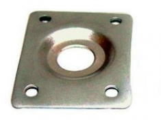 Kovová destička jack konektoru