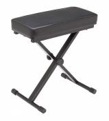 Klavírní stolička s obdélníkovým sedákem