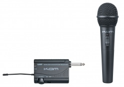KWM1900 single UHF Handheld mic system