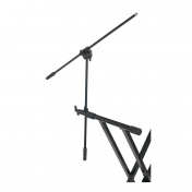 Keyboard mic arm