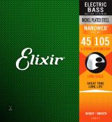 14077 Nanoweb Electric Bass Light/Medium