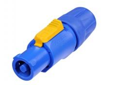 NAC3FCA, kabelový Powercon modrý