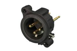 NC3MAV, panelový XLR M konektor