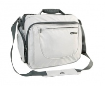 Creator Laptop Messenger Bag Silver 17""
