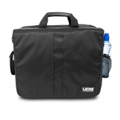 "Ultimate CourierBag DeLuxe 17"" Black, Orange inside"