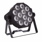 SLIMPAR12 DL - 12x12W LED RGBWAU/FC IRC