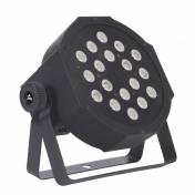 SLIMPAR 18X1W LED RGB IRC