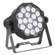 SLIMPAR 18X3W LED RGB/FC IRC