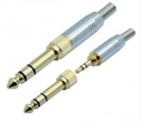 Šroubovací konektor Jack 3,5mm s redukcí
