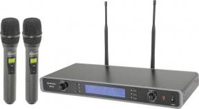 RU210 sada ručních UHF mikrofonů 81 frekvencí
