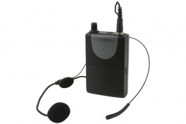 Náhlavní sada VHF pro reproboxy QR/QX, 141,1 MHz