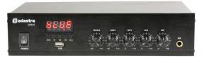 DM40 digitální 100V mixážní zesilovač
