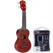 US20 Ukulele Flower SET