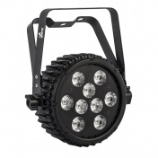 HALFPAR 9X10W LED RGBWA/FC