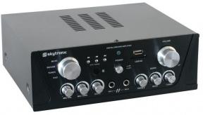 Karaoke zesilovač FM / USB / SD černý
