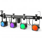 Astro PAR Bar, 4x 20W COB + 4x 1W bílá