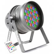 LED PAR64 36x3W RGBW IR