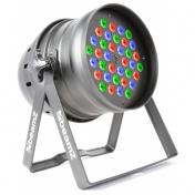 LED PAR-64 RGB 36x 1W, DMX
