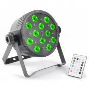 LED FlatPAR 12x3W TCL IR